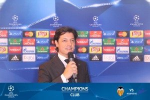 UEFA CHAMPIONS CLUB SPEAKER Maestro de Ceremonias Presentadores de Eventos Speakers